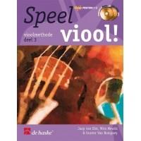 Foto van Speel viool! deel 3 +CD - Jaap van Elst/Wim Meuris/Gunter Van Rompaey