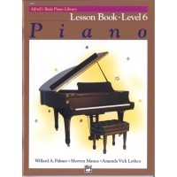 Foto van Alfred's Basic Piano Library: Lesson Book 6 (ALF002498)
