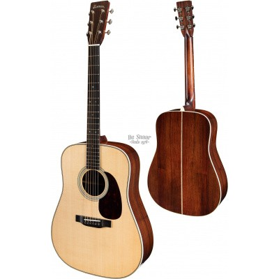 Eastman E8-D Solid Sitka Spruce top, solid Rosewood back and sides incl. case