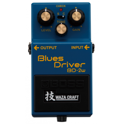 Boss BD-2w Waza Craft special edition Blues Driver