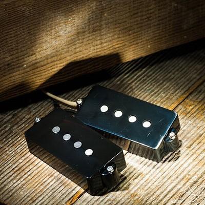 Lollar Overwound Precision Bass split-coil, black cover