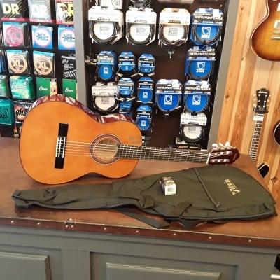 Valencia VC103K gitaar set 3/4 met tas en clipon tuner
