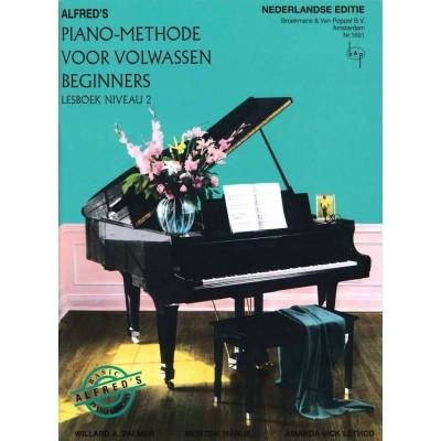 Alfred's Piano Methode voor Volwassen Beginners deel 2 (BVP1691)