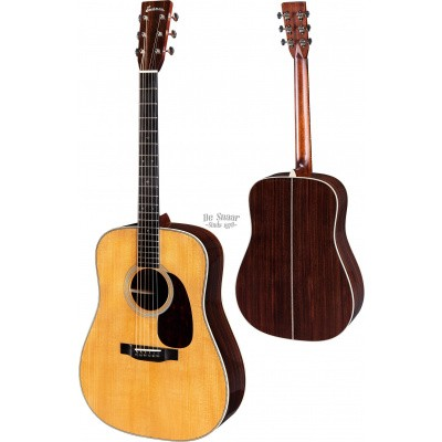 Eastman E20D-TC, Thermo cured Adirondack spruce top, Rosewood back and sides incl. hardcase.