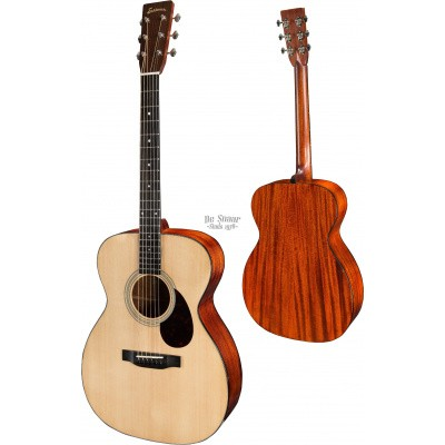 Eastman E6-OM Solid Sitka spruce top, solid Mahogany back and sides, incl. case