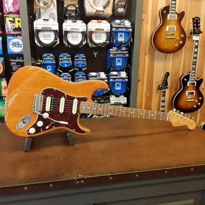 Fender FSR Stratocaster Player RW Amber 014-0027-320 incl. gigbag