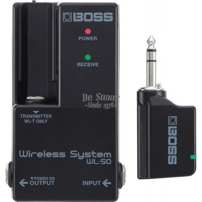 Boss WL-50 Wireless Guitar System for Pedalboard Intergration