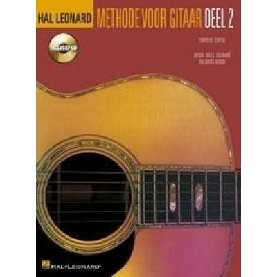 Methode voor gitaar deel 2 + CD - Will Schmid/Greg Koch