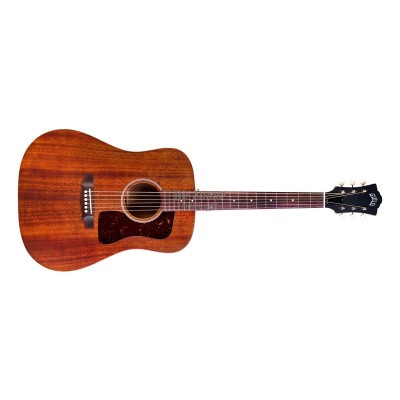 Guild D-20 Natural, solid Mahogany top, back and sides, incl. hardcase.