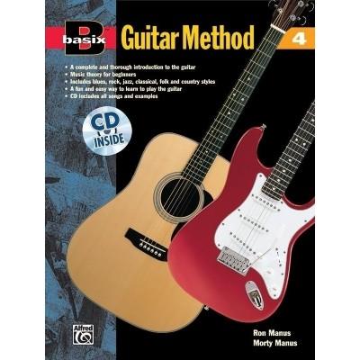 Basix Guitar Method 4 +CD - Ron/Morty Manus