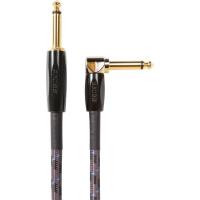 Boss Instrument Cable BIC-10A 10ft / 3m Angled/Straight 1/4