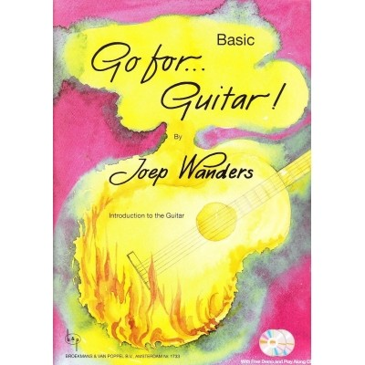 Go for Guitar! Basic + CD - Joep Wanders (BVP1733)