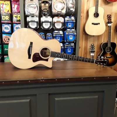 Eastman AC122-1ce, solid Sitka spruce top, solid Sapele back and sides inc. gigbag