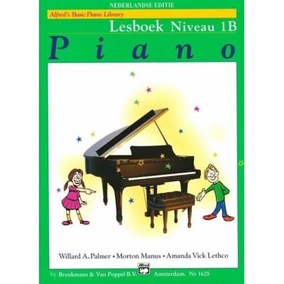Alfred's Basic Piano Library Lesboek Niveau 1B (BVP1625)