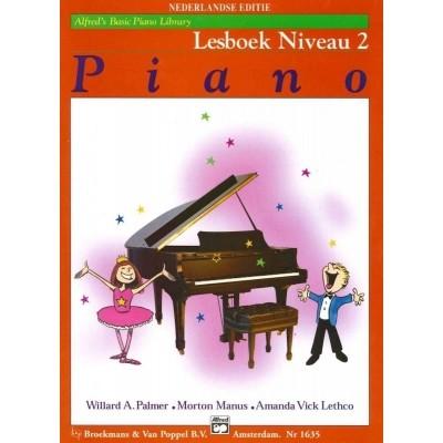 Alfred's Basic Piano Library Lesboek Niveau 2 (BVP1635)