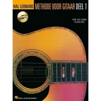 Methode voor gitaar deel 1 + CD - Will Schmid/Greg Koch