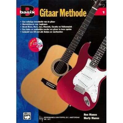 Basix Gitaar Methode deel 1 +CD - Ron/Morty Manus