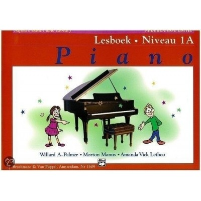 Alfred's Basic Piano Library Lesboek Niveau 1A (BVP1609)