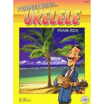 Probeer eens... Ukelele + CD - Frank Rich (REBA00663)