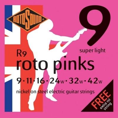 Rotosound R9 Roto Pinks 009-042
