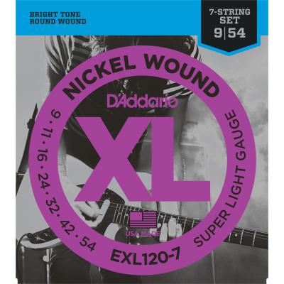 DAddario EXL120-7 (7 Snaren)