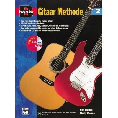 Basix Gitaar methode Deel 2 +CD - Ron/Morty Manus