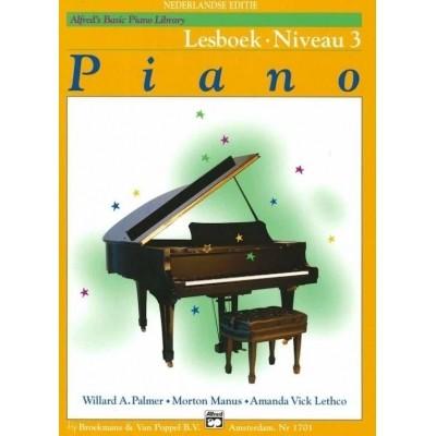 Alfred's Basic Piano Library Lesboek Niveau 3 (BVP1701)