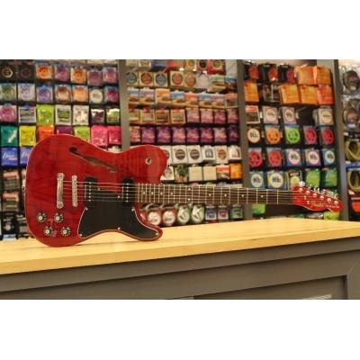 Fender Jim Adkins JA-90 Telecaster RW Crimson Red Transparent 026-2350-538