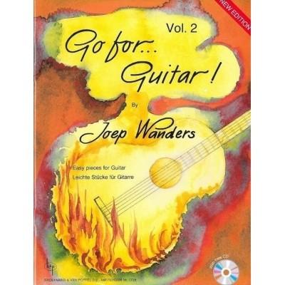 Go for Guitar! 2 + CD - Joep Wanders (BVP1728)