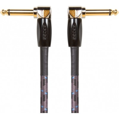 Boss Instrument Cable BIC-3AA 3ft / 1m Angled/Angled 1/4