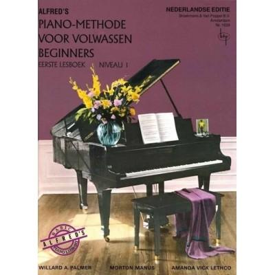 Alfred's Piano Methode voor Volwassen Beginners deel 1 (BVP1639)